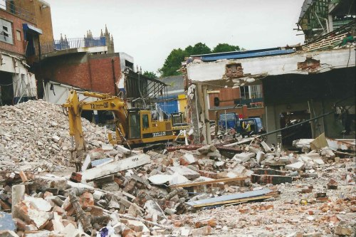 Bryan Brothers' Garage Demolition, Bristol, 1999