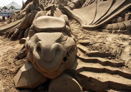 Ten Incredible Sand Sculptures
