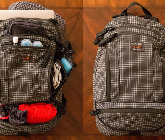 The Complete Guide To Ultralight Minimalist Travel Tom Bihn Synapse 19