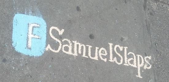Samuel Slaps: Street Artist, Self-Promoter or Public Order Criminal?