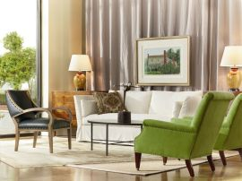 Lee Industries Upholstered Chairs and Sofa