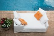 Lee Industries Upholstered Outdoor Daybed