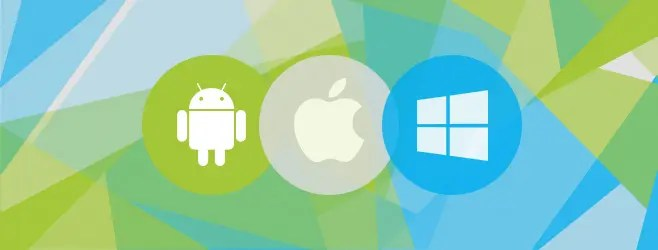 Android, iOS and Windows