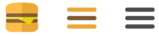 Hamburger Icon Evolution