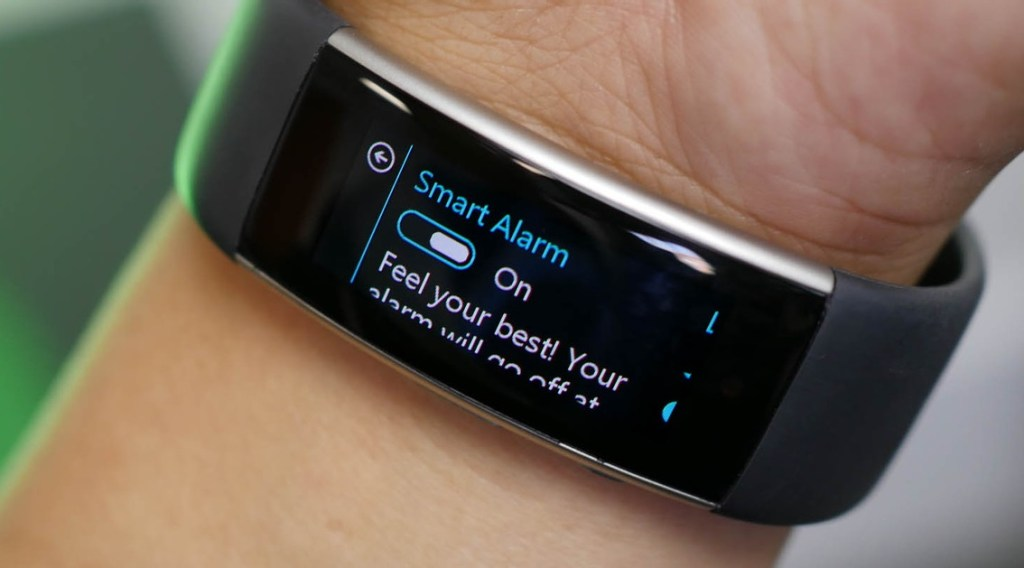 Microsoft Band 2 Smart Alarms
