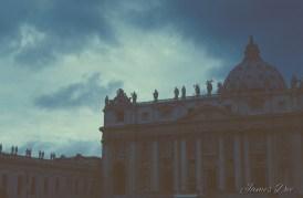 Ever Seen a Storm Over the Vatican City