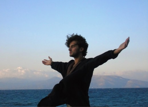 Feeling the winds of freedom on the Evian Gulf, Greece