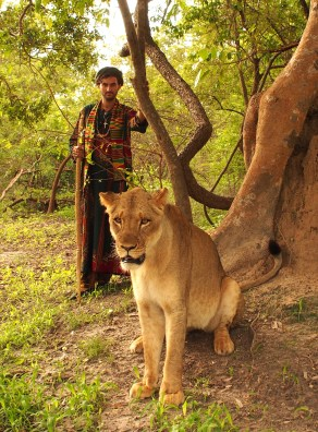 Masai the Lioness and the Wanderer