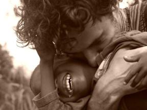 Me and my boy, Ghana