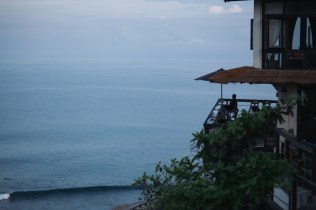 No better way to recover from a hangover from a big night out than to see dawn break over Uluwatu.