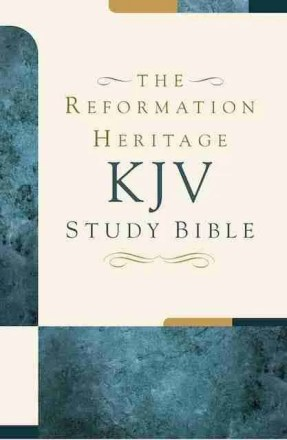 Hardcover Reformation Heritage King James Version Study Bible Puritan Theological Christian Books