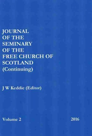 Free Church Continuing Journal John Keddie