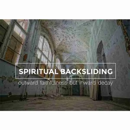 Backsliding Reformation Trust