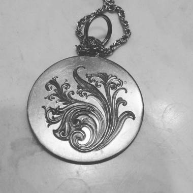 Luminesque Engraving on Pendant