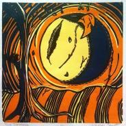 Kaitlyn Ekart, Reduction Relief Print, 6 x 6