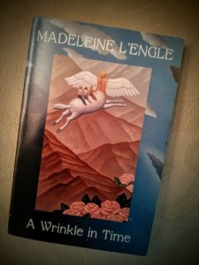 Book cover for A Wrinkle In Time by Madeleine L'Engle