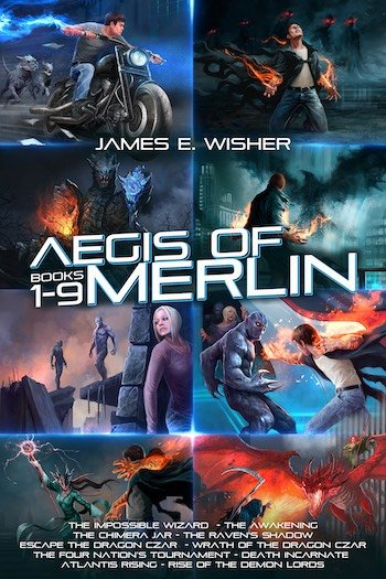 The Complete Aegis of Merlin Boxed Set