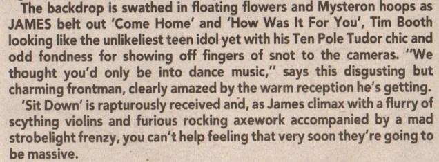 Wembley-Arena-Jan-1991-Sounds-review