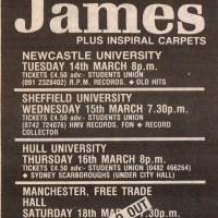 Newcastle University 14.03.1989