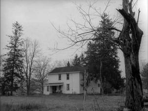 the house from 'Night of the Living Dead'