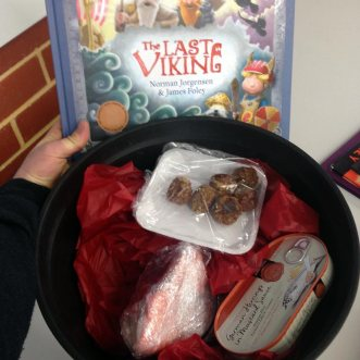 Viking food 'gift' from Palmyra PS
