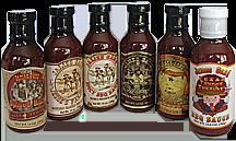 Variety BBQ Sauces