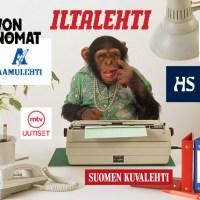 Suomimediat taas housut kintuissa kiinni hölmölän kansan kusettamisesta