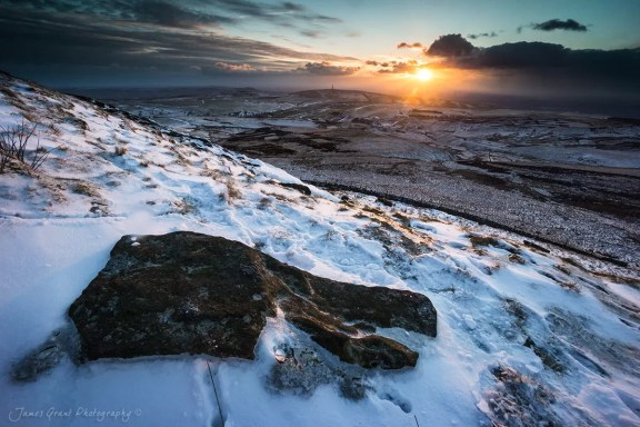 Sunset at Shutlingsloe - Peak District Photography