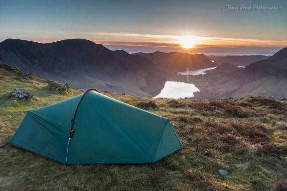 Fleetwith Pike Wild Camp Spot - Lake District Photography