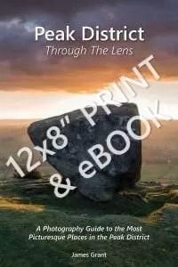 Peak District Through The Lens Print Book