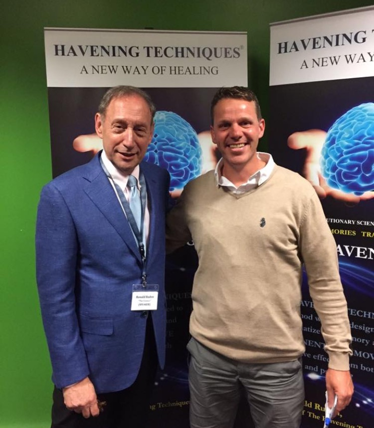 Dr Ronald Ruden creator of the Havening Techniques with James Hymers