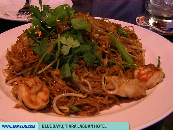Fried bee hoon seafood