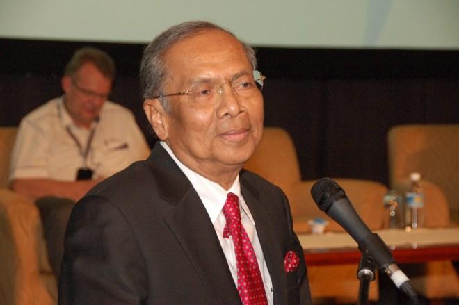 YB Tan Sri Datuk Amar Haji Adenan Bin Haji Satem. Photo by Sarawak Energy