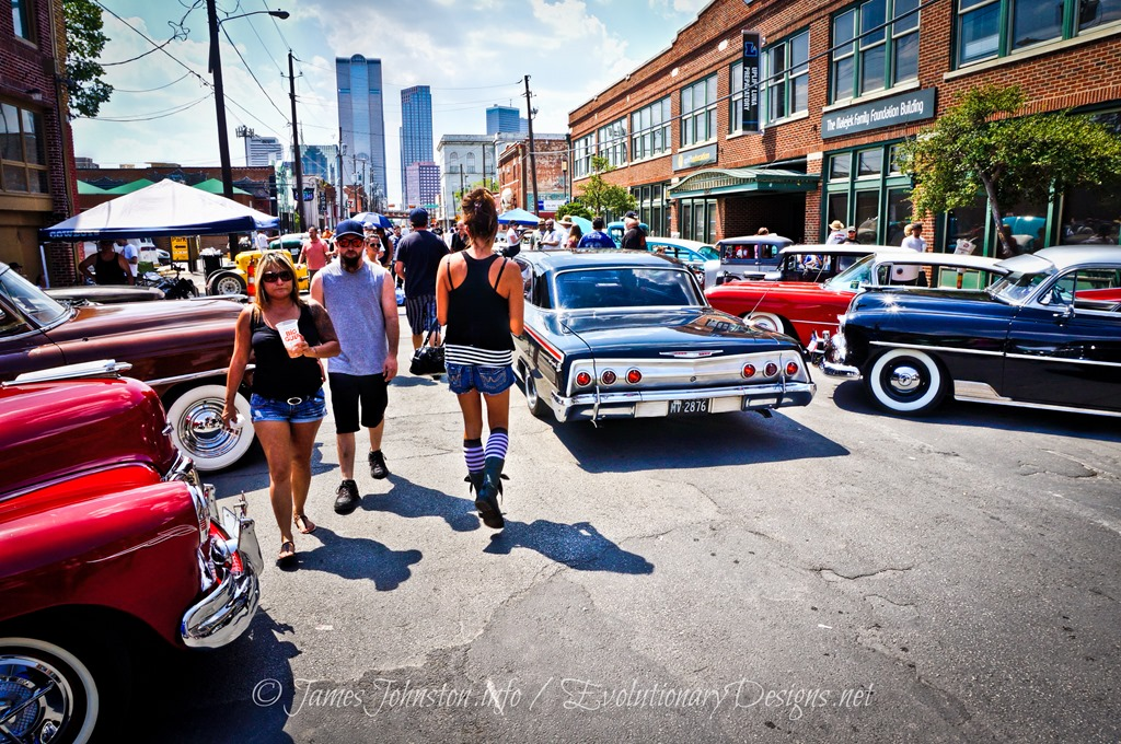 Images From The Invasion Car Show In Deep Ellum Dallas - Dallas car show