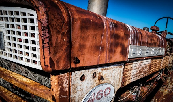 Abandoned Farmall International 460 Tractor