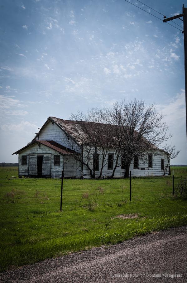 Abandoned Building Near Gunter, Texas