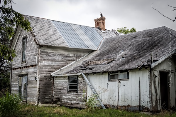 Abandoned Farmhouse in Rockwall, Texas