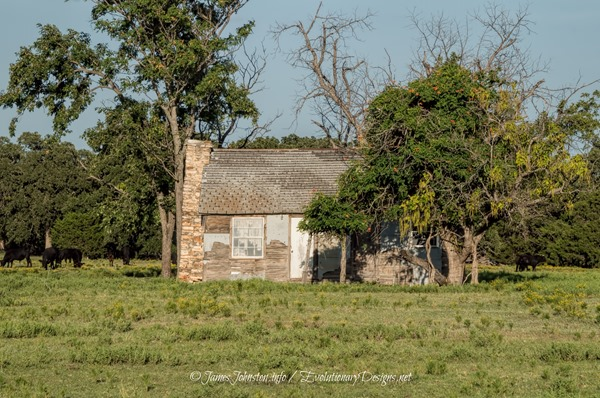 Abandoned Farmhouse Near FM 677 and Farm-to-Market 373N