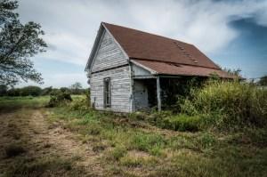 Abandoned Farm House East of Ector, Texas