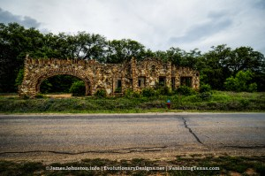 Nature's Doorway – Ed Young's Service Sation aka the Outlaw Service Station in Glen Rose, Texas - Front Side