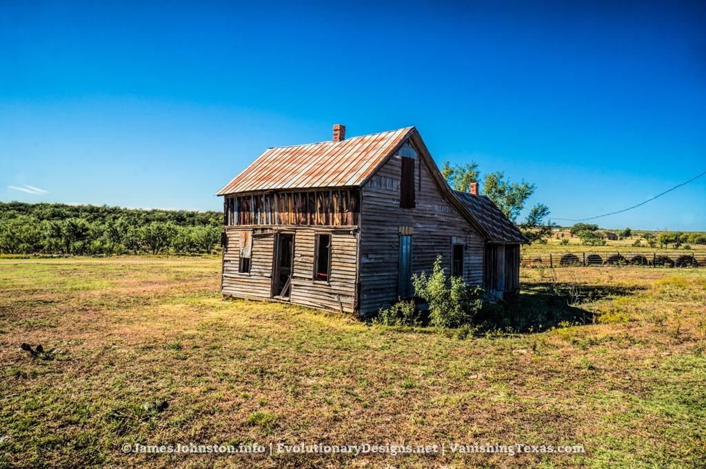 Abandoned Farm House Near Abilene Texas James Johnston