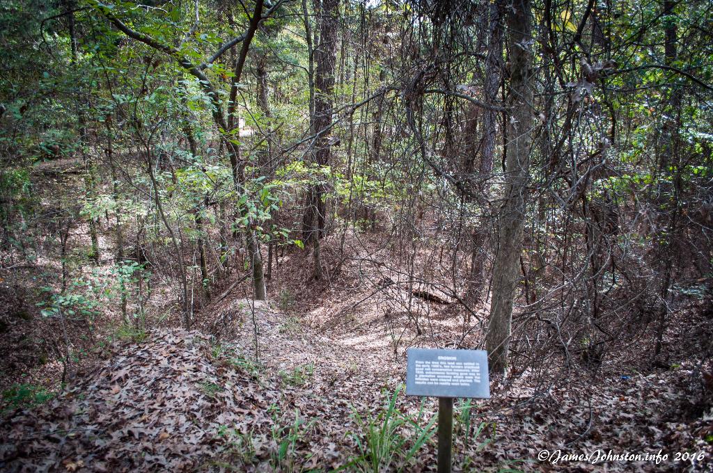Rocky Springs, Mississippi - Erosion