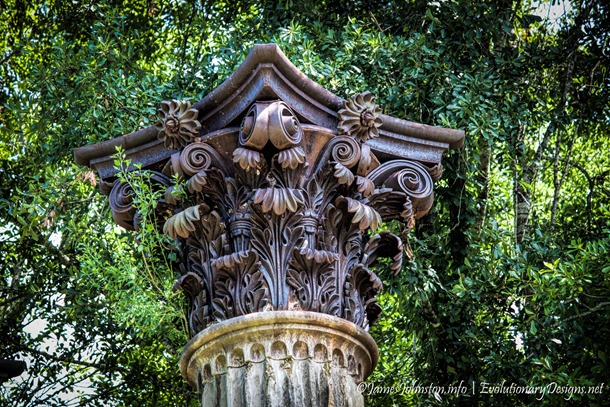The Windsor Ruins - column capitals