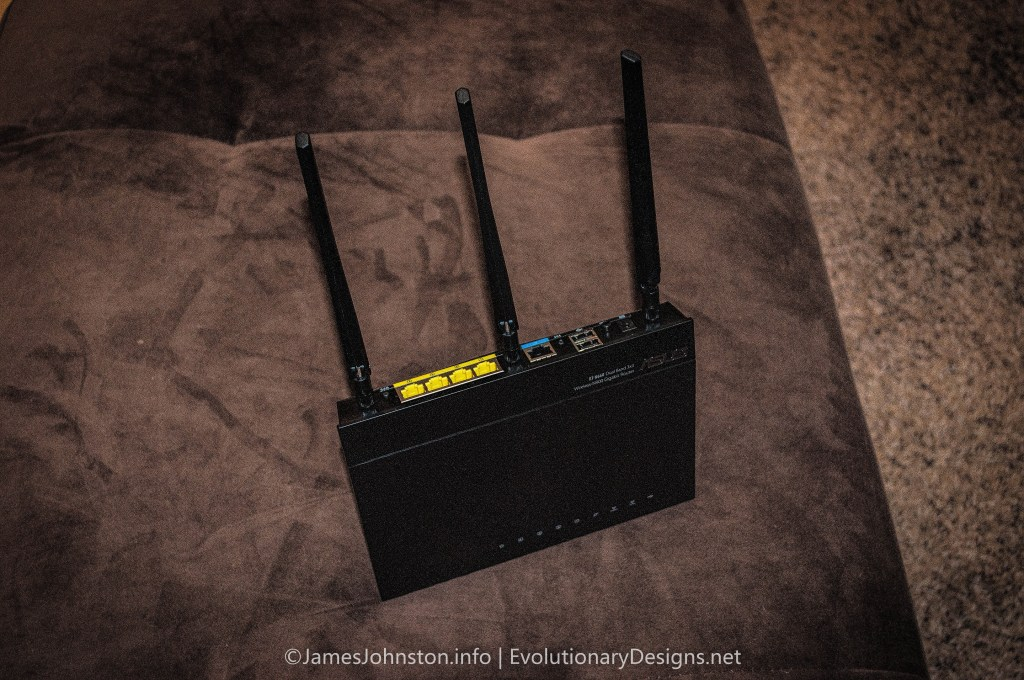 ASUS RT-N66U Gigabit Router Dual-band Wireless-N900