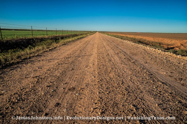 Muddy Red Dirt Roads in West Texas
