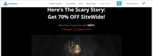 InkyDeals 70% Off Site Wide Deals For Premium Design Resources