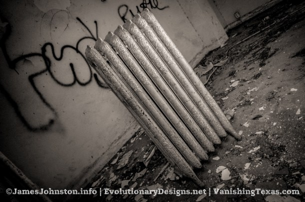 Abandoned Ornate Radiator