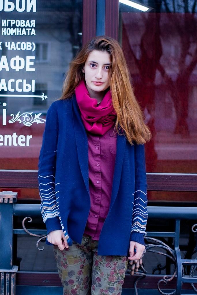 russian girl portrait