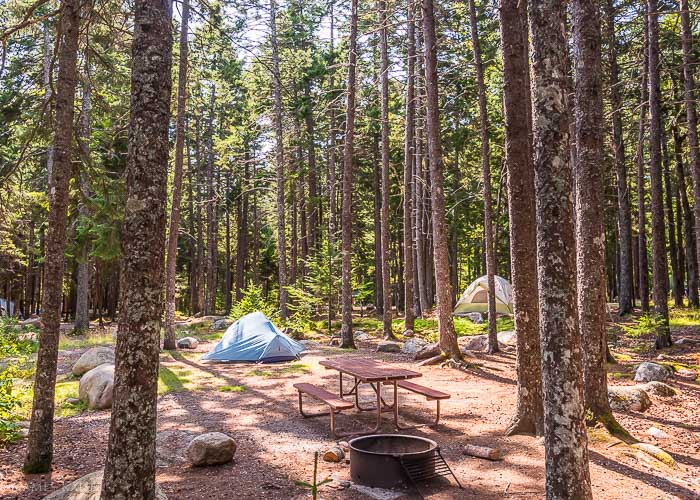 Acadia National Park Camping Guide James Kaiser