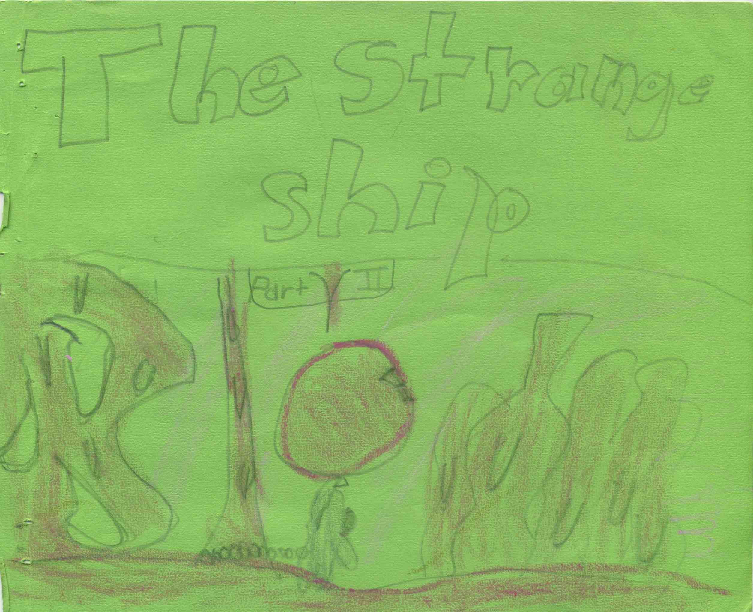 The Strange Ship, Part II -- Title Page